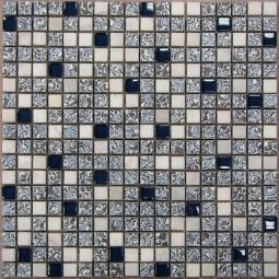 Мозаика Bonаparte Dreams Blue белая глянцевая 30x30