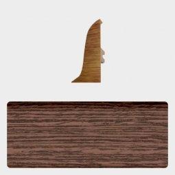 Заглушка торцевая правая (блистер 4 шт.) Т-пласт 068 Темный Венге