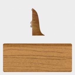 Заглушка торцевая левая (блистер 4 шт.) Т-пласт 045 Дуб Европейский