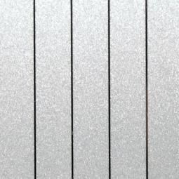 Рейка S-профиль металлик серебристый В22, 100*3000