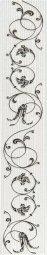Бордюр Cracia Ceramica Анжер Голубой 01 40x7,5