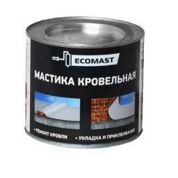 Мастика кровельная Ecomast металлическое ведро 2 л