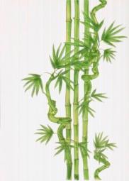 Декор Береза-керамика Ретро бамбук 2 салатный 25х35