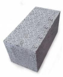 Керамзитоблок фундаментный полнотелый 390x190x188 мм М-150