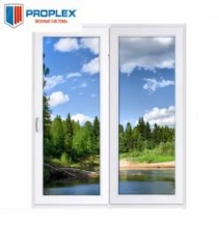Окно раздвижное PROPLEX 2100x2000 двухстворчатое ЛР1000/ПГ1000 3 стеклопакет