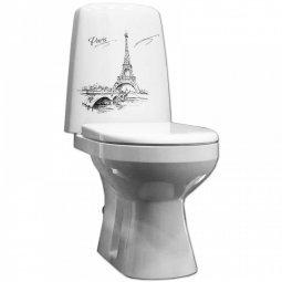 Унитаз-компакт Оскольская Керамика Эльдорадо Декор люкс с нижней подводкой