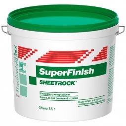 Шпатлевка готовая Sheetrock СуперФиниш (5,6 кг - 3,5 л)