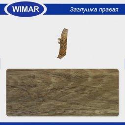 Заглушка торцевая правая Wimar 802 Дуб Термоли