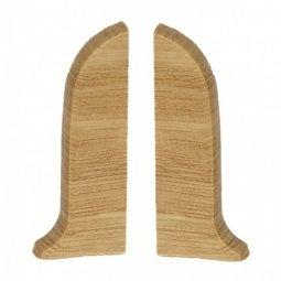 Заглушка торцевая левая и правая (блистер 2 шт.) Salag Дуб Галийский 56