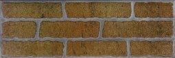 Плитка для стен Сокол Кремль KS-2 оранжевая полуматовая 12х36.5
