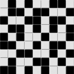 Мозаика Lasselsberger Азур бело-черная 30х30