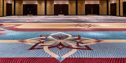 Художественная укладка коврового покрытия / подбор рисунка более 50 м2