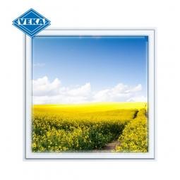 Окно ПВХ Veka 600х600 мм одностворчатое Г 1 стеклопакет