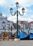 Декор Береза-керамика Азалия Венеция 1 синий 25x35