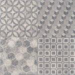 Плитка для пола Kerama Marazzi Саттон 4226 40.2х40.2 серый декор