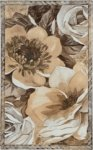 Декор Gracia Ceramica Флоренция 01 светло-бежевый 25х40