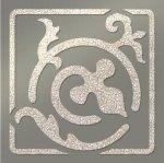 Декор Freelite Универсальные вставки для пола Брест Серый серебро 6x6