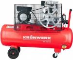 Компрессор Kronwerk KR 100/350 (2.2 кВт, 350 л/мин, 100 л)