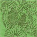 Декор Kerama Marazzi Тантра AD\B92\1221T 9.9х9.9 зеленый