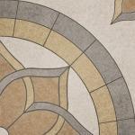 Керамогранит Lasselsberger Версаль глазурованный Мозаика серый 45x45