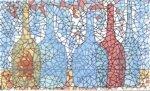 Декор Сокол Гауди D-700 орнамент глянцевый 33х20