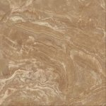Керамогранит Kerranova Premium marble полированный коричневый 60x60