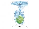Водонагреватель газовый Zanussi GWH 10 Fonte Glass Lime