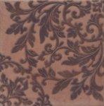 Декор Kerama Marazzi Честер STG\B249\3414 30.2х30.2 коричневый темный