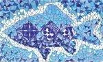 Декор Сокол Гауди D-696 орнамент глянцевый 33х20