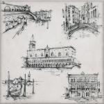Декор Kerama Marazzi Марчиана Venezia STG\A594\5261 20х20