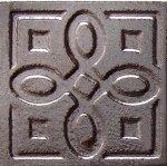 Декор Freelite Универсальные вставки для пола Давос Серебро 6x6