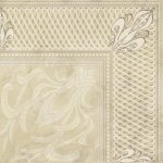 Плитка для пола Береза-керамика Грация декоративная 1 палевая 42х42
