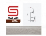 Плинтус Salag LI00G8 Гладстоун Серый 72