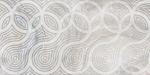 Декор Береза-керамика Камелот серый 300х600