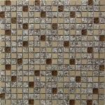 Мозаика Bonаparte Dreams Beige коричневая глянцевая 30x30
