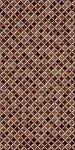 Плитка для стен Береза-керамика Симфония темно-коричневая 25х50