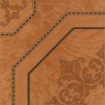 Плитка для пола Береза-керамика Альба коричневая 42х42
