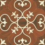 Плитка для пола ВКЗ Версаль коричневая ковер 40x40